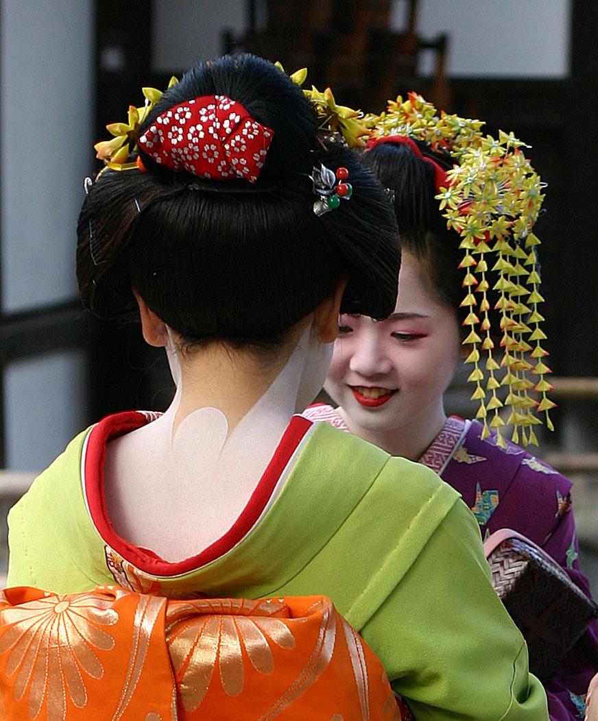 Geisha kyoto 2004 11 21